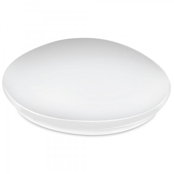 Aplique led redondo  blanco 12w.fria