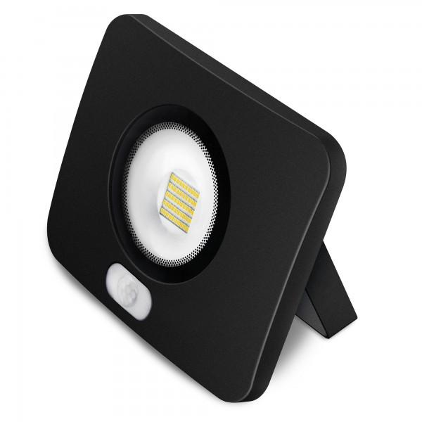 Proyector led al.fund sensor.negro.10w.f