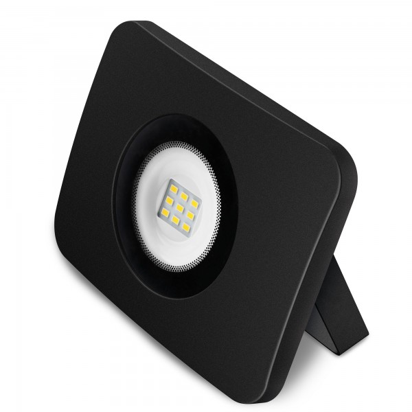 Proyector led alum.fundido negro  20w.f