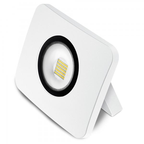 Proyector led alum.fundido blanco 100w.f