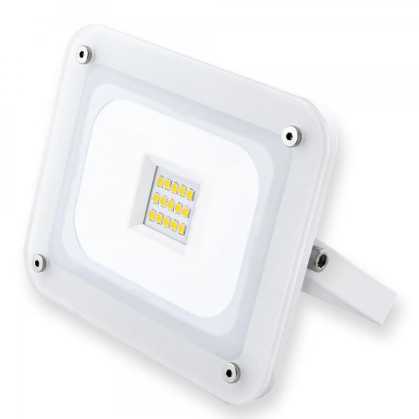 Proyector led blanco  10w.calida
