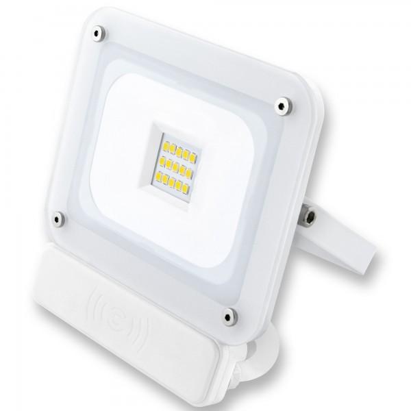 Proyector led sensor blanco  10w.fria