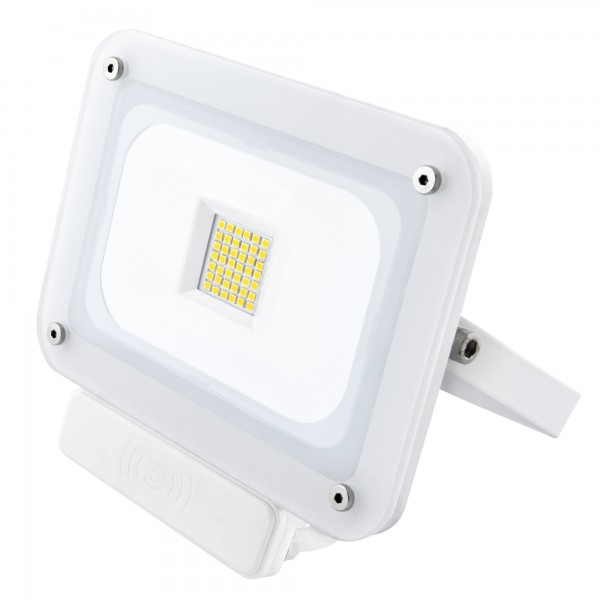 Proyector led sensor blanco  30w.fria