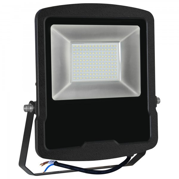 Proyector led 5 años negro  100w.fria