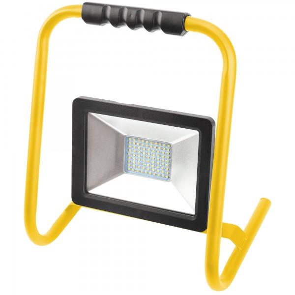 Proyector led soporte negro 1,5mt 20w.f.
