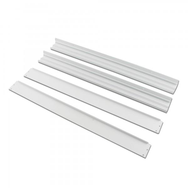 Marco aluminio panel led 60x120cm.