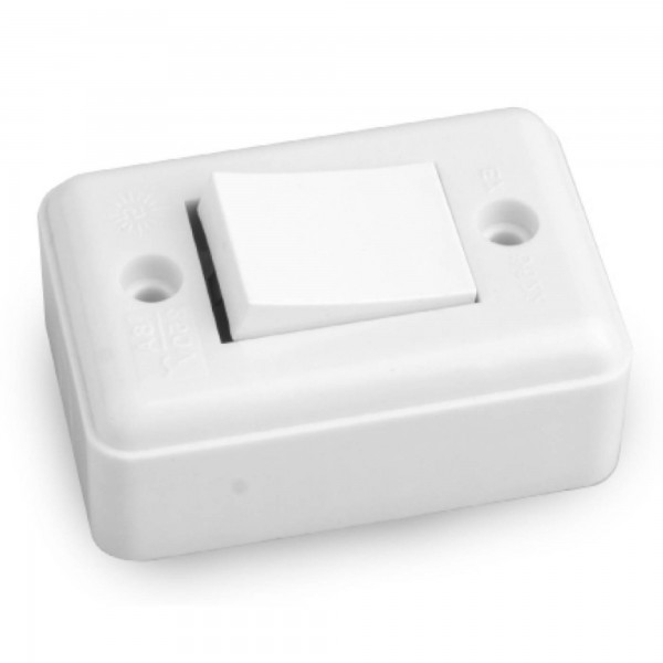Interruptor onlex 6a. unip. extrap. sup.