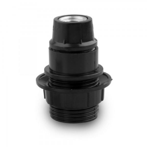 Portalamparas onlex 2a. e-14 negro