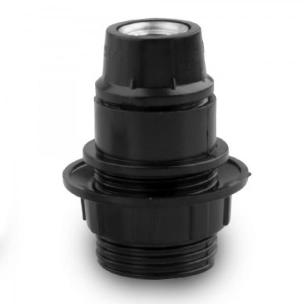 Portalamparas onlex e-27 int. negro