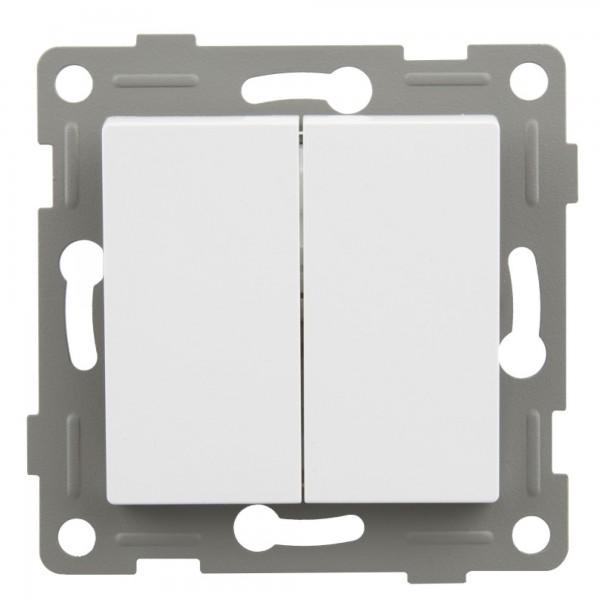 S-empot.onlex blanca conmutador doble