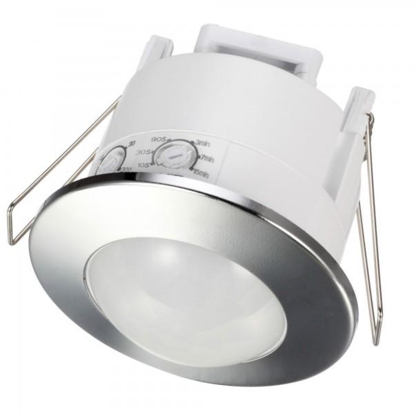 Sensor infrarr.empotr.plata 360º 6metros
