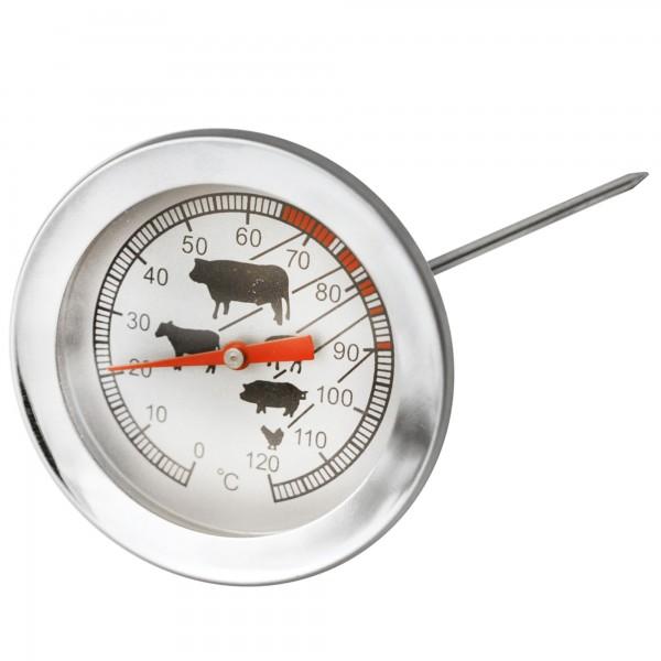 Termometro carne y asados acero inox