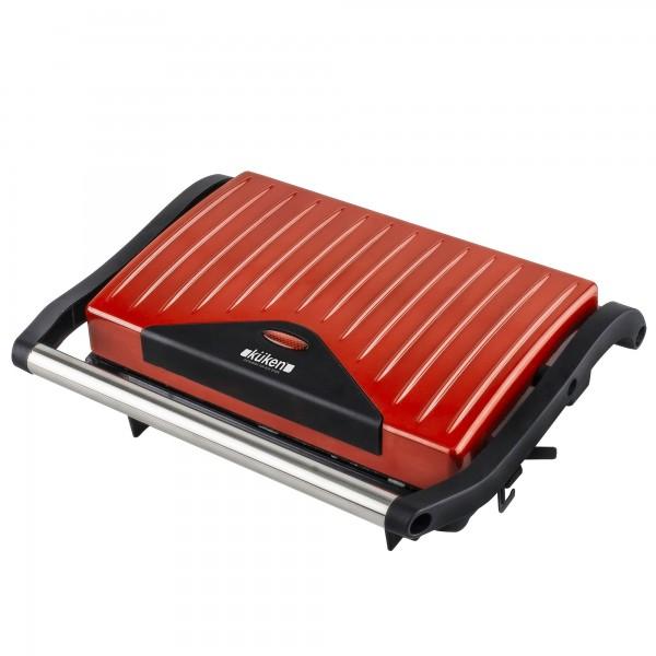 Sandwichera electrica 750w 2pgrill kuken