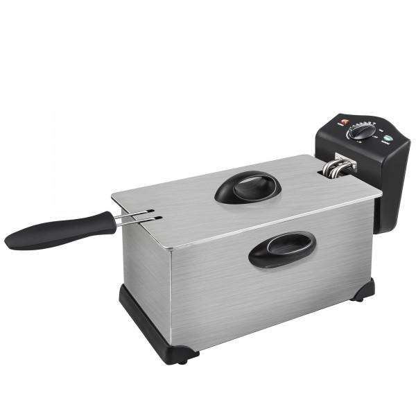 Freidora inox kuken 2300w 3.0 l