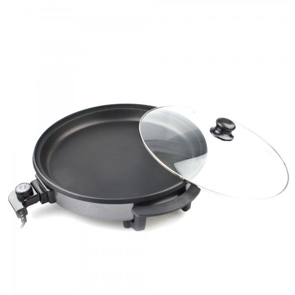 Pizza pan antiadh. 40x4cm. 1500w. kuken