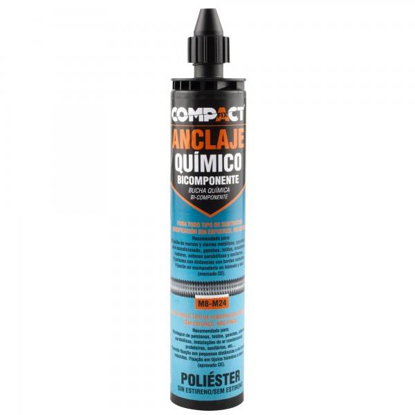 Anclaje quimico bic.poliest.300m.compact