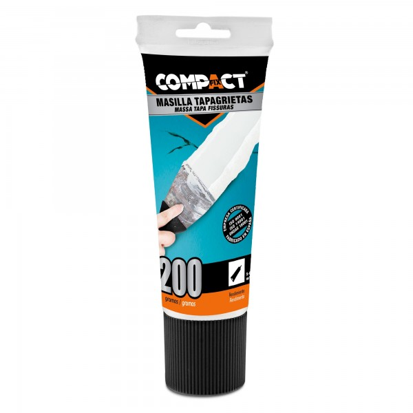 Masilla  plaste uso  compact 200 ml. tub