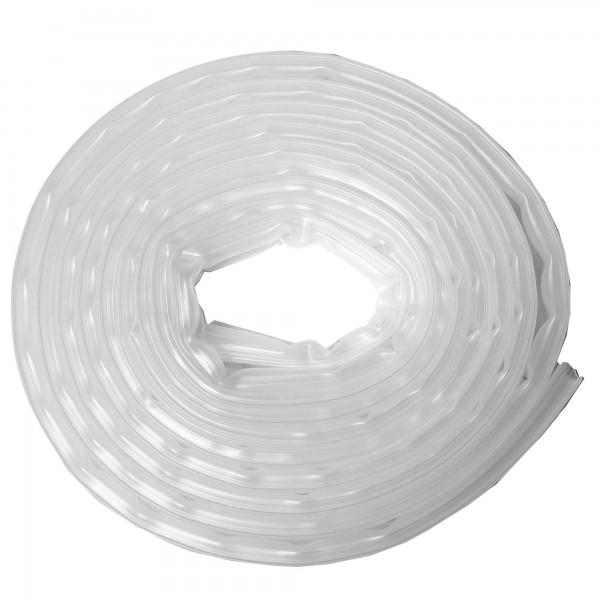 Burlete silicona 6m.x 9 mm. transparente