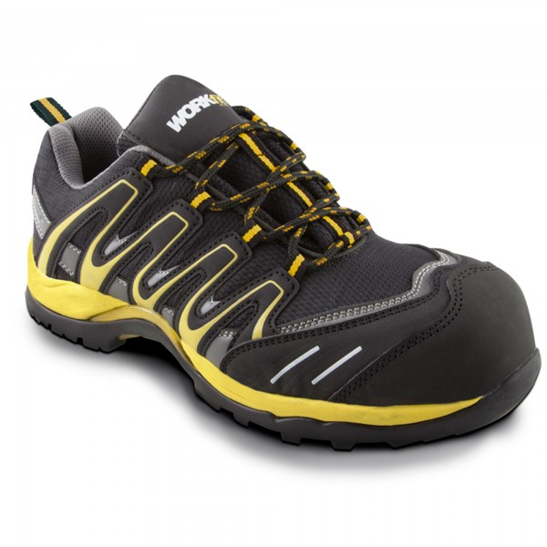 Zapato seg. workfit trail amarillo n.42