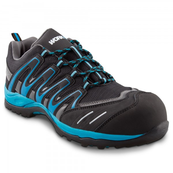 Zapato seg. workfit trail azul n.42