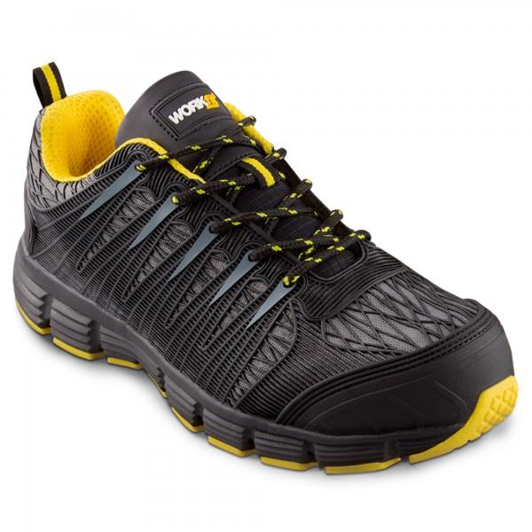 Zapato seg. workfit spider amarillo n.41