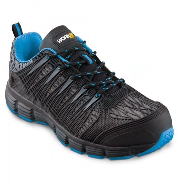 Zapato seg. workfit spider azul n.43