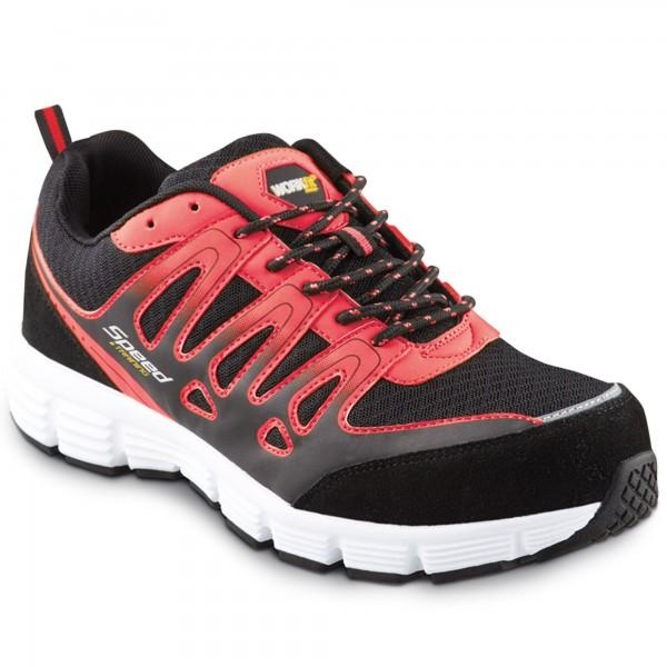 Zapato seg. workfit speed rojo n.45