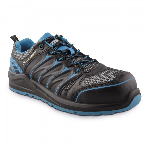 Zapato seg. workfit xcross azul n.45