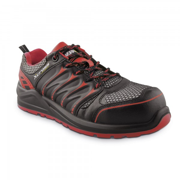 Zapato seg. workfit xcross rojo n.39