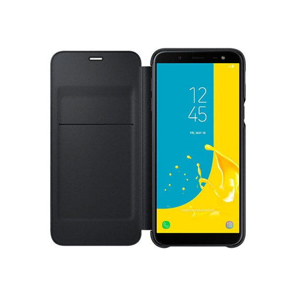 Samsung wallet cover negro funda samsung galaxy j6 (2018)