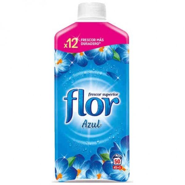 Suavizante flor azul 45 lavados   + 5 gratis