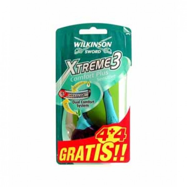 Wilkinson sword xtreme 3 sensitive 4+4 und.