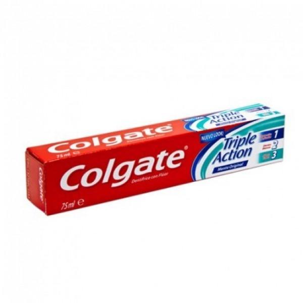 Colgate dentífrico triple acción 75 ml