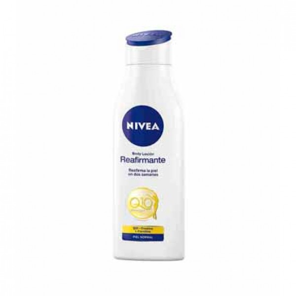 Nivea q10 + vitamina c  reafirmante piel normal 400 ml