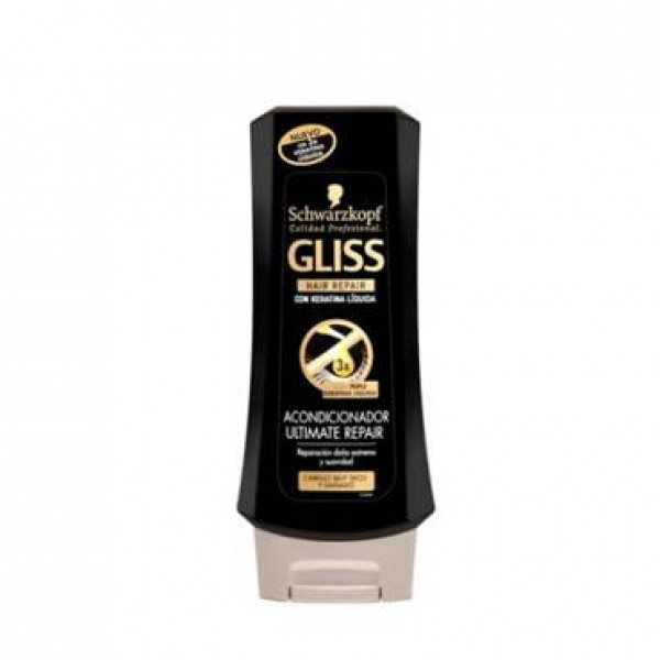 Schwarzkopf acondicionador gliss ultimate repair 200ml