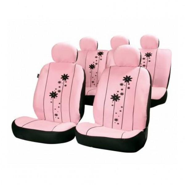 Fundas asientos textiles rosa urban girl