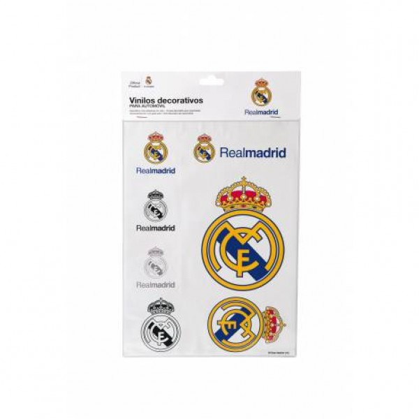 "Adhesivos ""real madrid"" din a4"