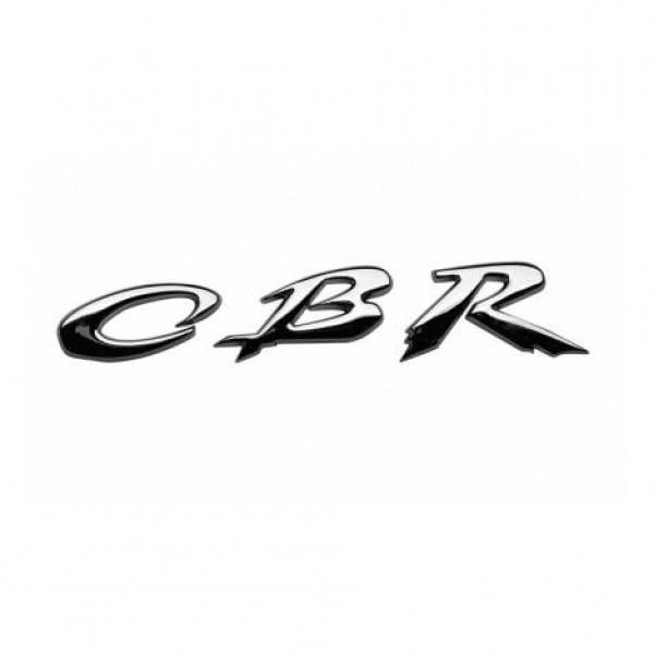 "Emblema "" cbr "" cromado 80x19 mm."
