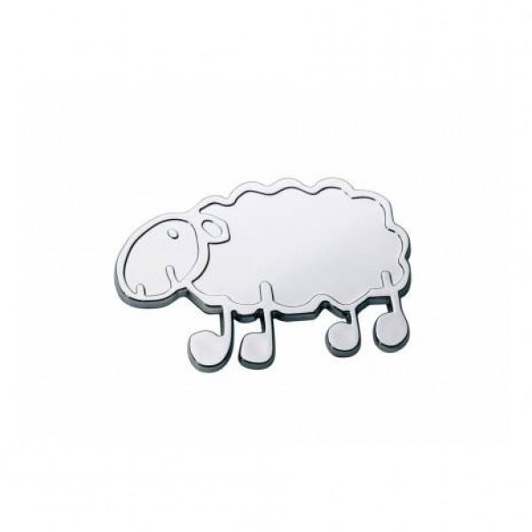 "Emblema ""oveja vasca * ardi latxa"" pequeño 57x40mm"