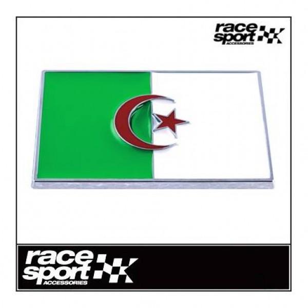 "Emblema ""argelia"" cromado 71x46 mm"