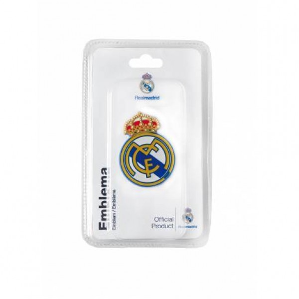 "Emblema ""escudo real madrid"" 40x55mm"