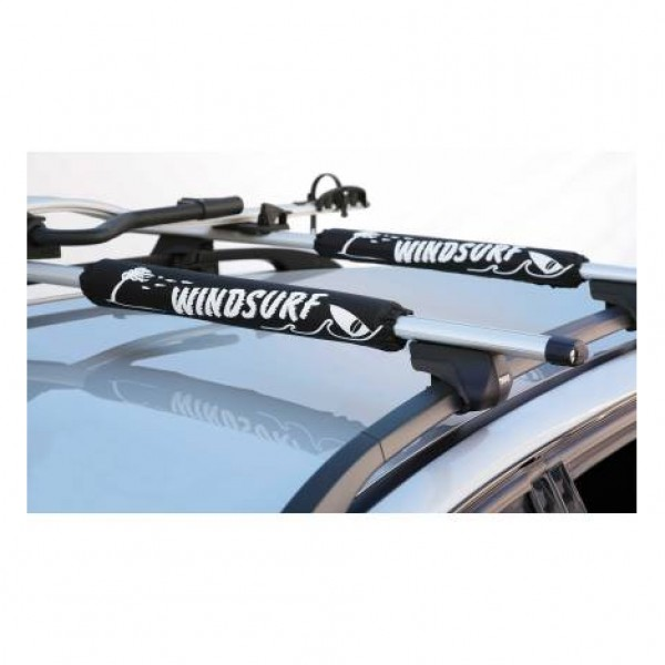 "Almohadilla protectora ""windsurf"" negra. 2 unidades."