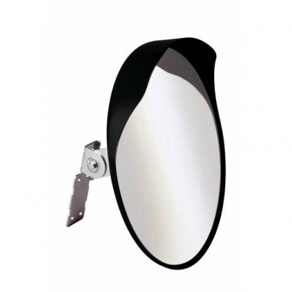 Espejo convexo de seguridad de 40 cm de diámetro para salidas de parking