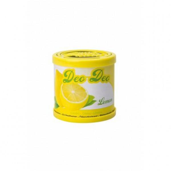 Ambnientador tipo lata limón