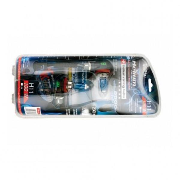 "Estuche bombilla ""helium quartz"" h11 12v 100w. 2ud"