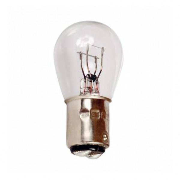 Lámpara stop 2 polos 12v 21/5w bay15d. caja 10 uds.