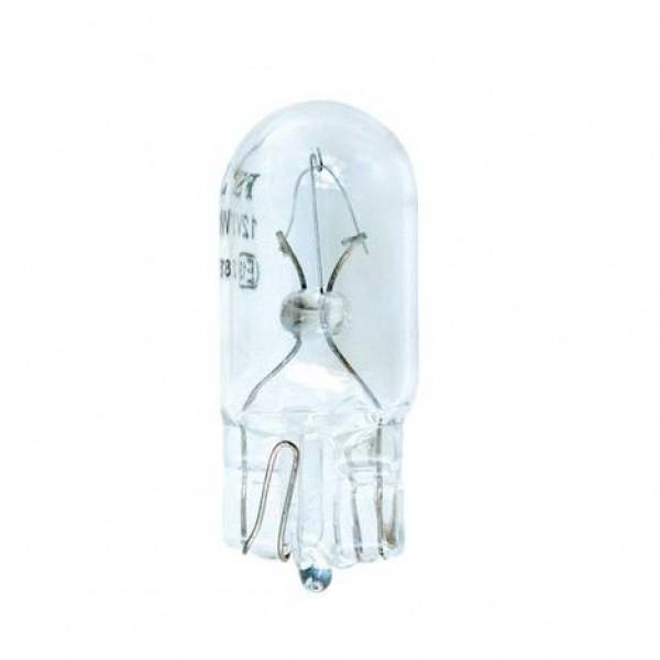 Lámpara wedge 12v 5w (t10) w2.1x9.5d. caja 10 uds.