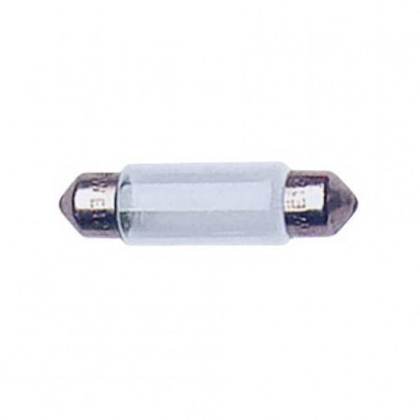 Lámpara plafonier 12v t11x41 5w sv8.5d. caja 10 uds.