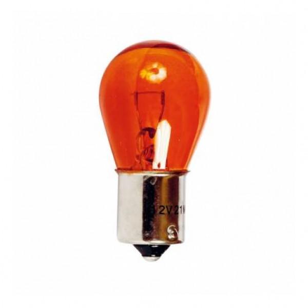 Lamp.stop 1 polo 12v 21w bau15s casq.des.ambar.bli