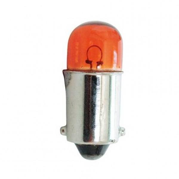 Lámpara t.control 12v 4w ba9s ambar. caja 10 uds